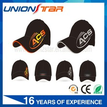 Custom baseball cap embroidered logo