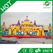 2015 Fashionable top quality inflatable amusement park,inflatable jurassic fun park,giant inflatable city