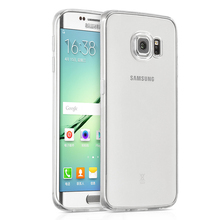 EXCO Clear and Ultra-thin TPU Phone Cover Case for Samsung Galaxy S6 Edge Plus, the Most Transparent Cell Phone Protective Skin