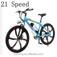 OEM 2015 36V 250W powered strong electric bike 26 inch new design electric mountain bicycle sports bike