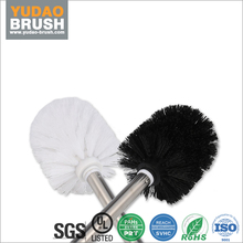 Home cleaning toilet brush/ toilet bowl brush eco-friendly stainless steel holder bathroom cleaning scrubber