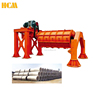 V-pipe Rolling concrete culvert pipe making machine
