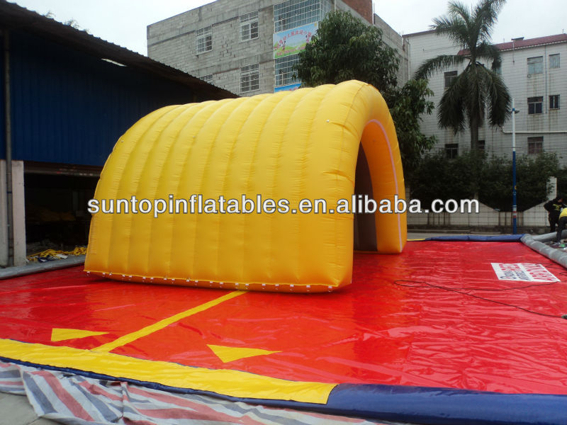 hot sports inflatable entrance tunnel tent for sales