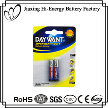 Top Quality R03 AAA 1.5V Dry Cell um4 Battery For MP3 Player