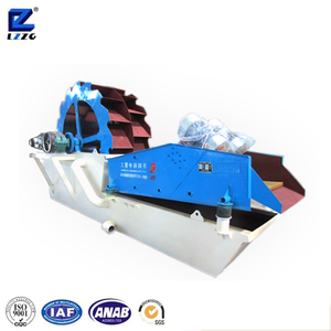 Silica sand washing and dehydration machine imported from China supplier
