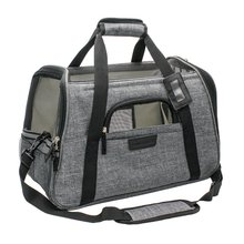 The new stylish Messenger portable pet carrier backpack dog backpack pet bag
