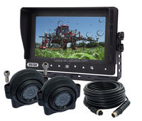 Agricultural Tractors Part of Combine Harvester Agricultural & Forestry Machinery Camera Monitor System