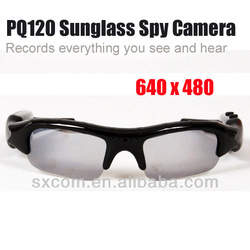 2014 Newest Spy Camera Mini DVR Advanced Hidden Sunglasses Hidden Camera Spy Gadget -PQ120