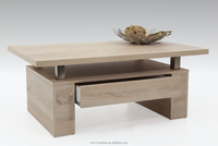 modern wood mdf with paper coffee table