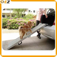 Luxurious foldable pet loading ramp