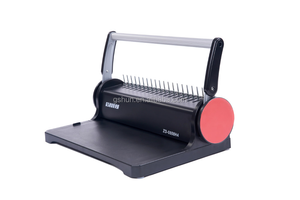 Small office desktop a4 mini binding machine