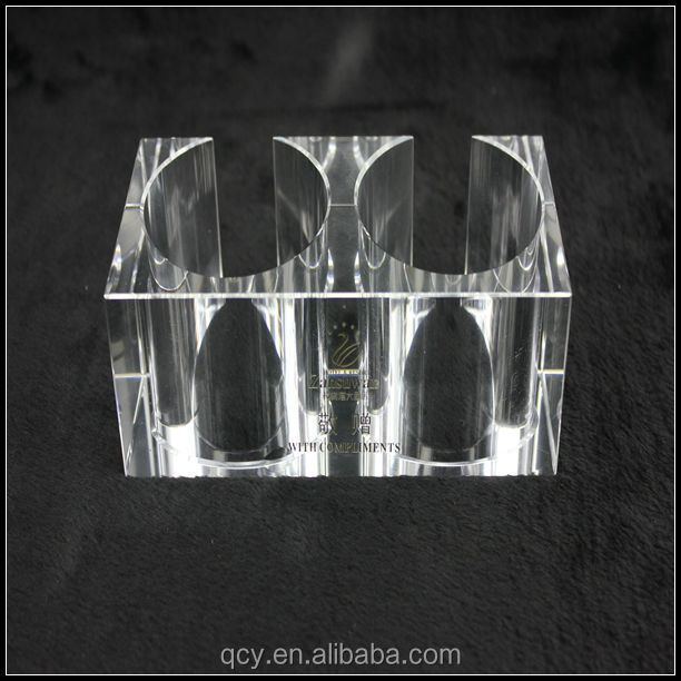 Double cylinder GuanShangPin clear acrylic gift or crafts