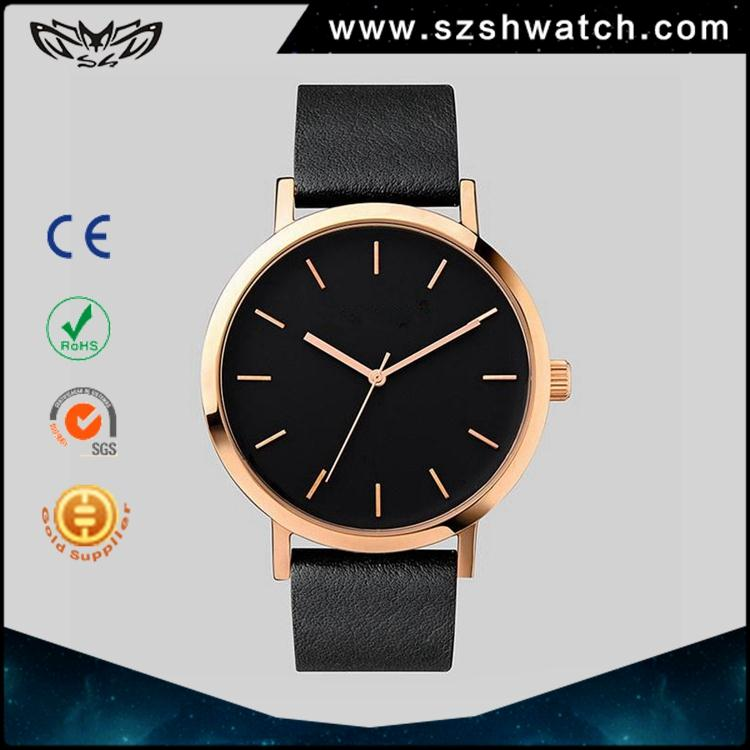 Chinese factory classic 3 atm water resistant stainless steel case back quartz wristwatches men cool analog digital hand watches