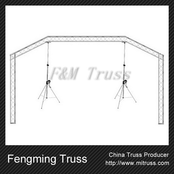 Led display screen support led rigging truss
