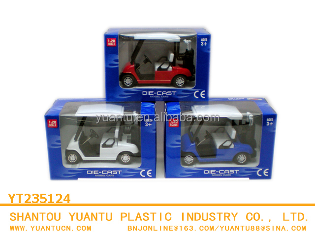 New product pull back mini golf cart,funny golf car die cast car,die cast model metal toy for wholesale