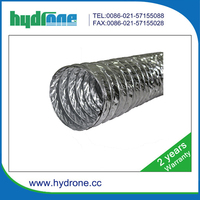The kitchen smoke lampblack machine exhaust pipe aluminum foil oil duct