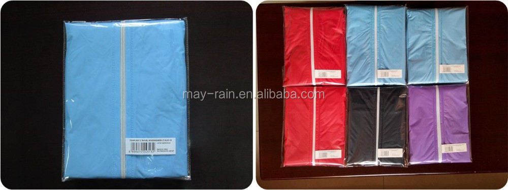2017 High Brighten EVA/PVC Light Plastic Adult PVC Rain Ponchos For Adult