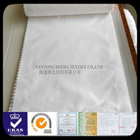 polyester cotton 65/35 white fabric