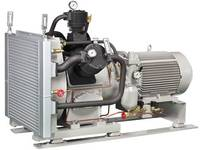 Air cooled air compressor