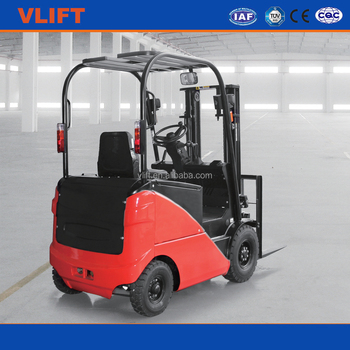 2000kg 3 m Electric Forklift with Duplex Mast
