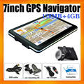 Wince 6.0 OS 7inch Global GPS Navigation For Car