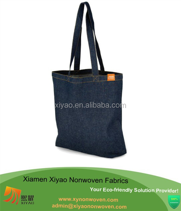 Wholesale price custom canvas tote bag grocery bag