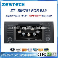 ZESTECH NEW car dvd for BMW 5 series E39 with GPS BT DVD support phone connection