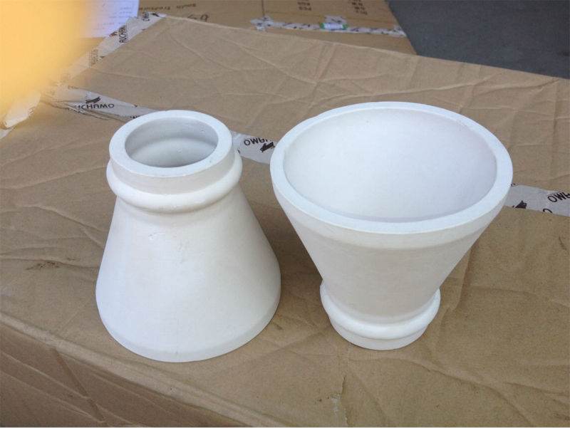 24# High refractoriness vivid figure of Al2o3 Pouring Cup for sale
