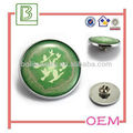 Metal Zinc Alloy Offset Printing Badge Lapel Pin With Epoxy