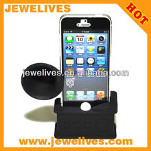 Silicone Speaker Horn For Mobile Phone 5 skin cover