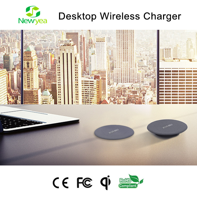 (A15) 5W Single-Coil Mini A Qi Wireless Table Charger For iPhone 5/6, ipad, Xiaomi Mobile Phone, Samsung Galaxy S2 S4 S5 S6