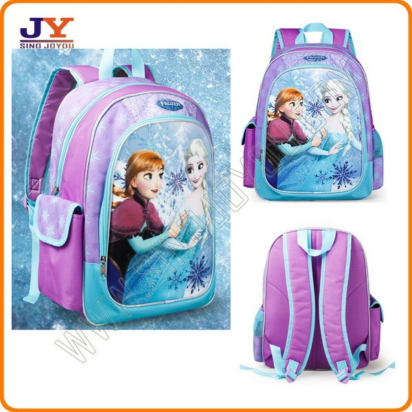 frezon polyester school backpack for girl