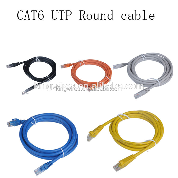 High speed 24awg utp cat6 patch cord 2m 3m 5m RJ45 plug networking cable cat6