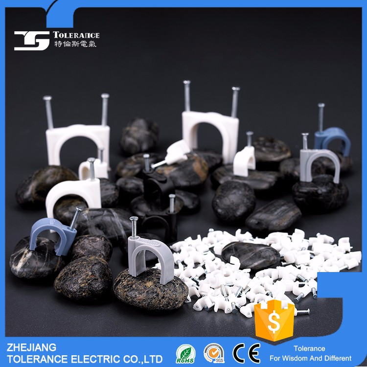 Good Reputation Attractive Price Bengal Market Shock Resisting Circle Nail Cable Clips