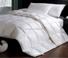 Factory supply colorful snow thick goose down quilt for hotel
