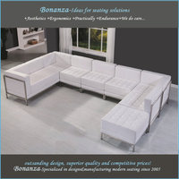 hot selling living room furniture living room sofas modern design leather sectional sofa