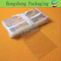 Protective packaging materials clear bag/ opp plastic packing bags in stock