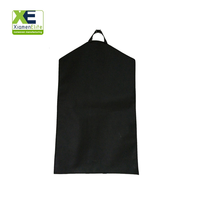 Wholesale Cute Hanging Black Dress Luxury Best Travel Garment Bag With Zipper For Suit