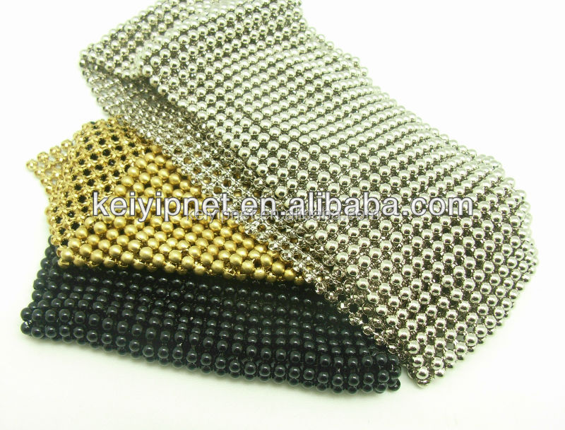High quality metal mesh chain curtain metal bead ball chain curtains