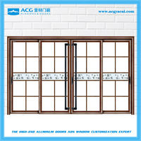 Good quality trade assurance aluminum large house glass door