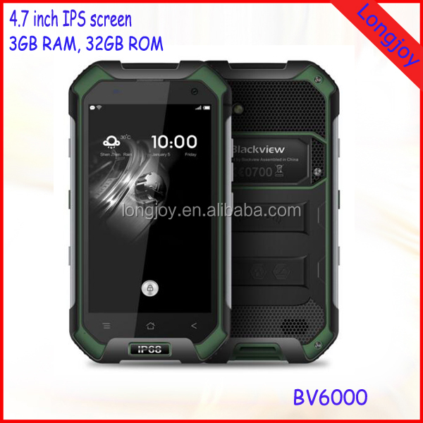 4.7 Inch Octa Core 3GB RAM 32GB ROM Dual SIM Android 6.0 Smart 4G LTE Rugged Phone with NFC 4500mAh Battery