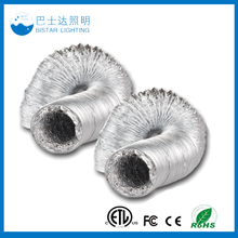 "4"" 6"" 8"" 10"" 12"" inch 25ft aluminium flexible vent air ducting/aluminum duct"