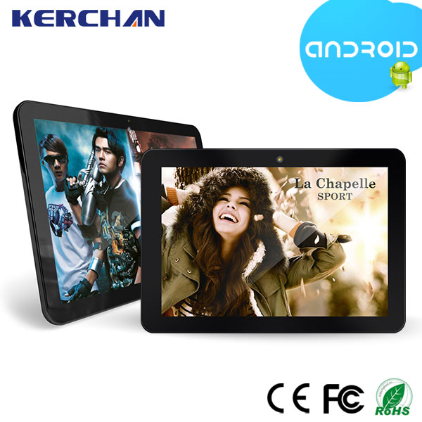 15.6 inch android 4.4 super smart tablet pc , VESA mounting lcd touch screen advertising display