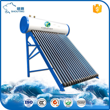 Integrated Heat Pipe High Pressure Solar Geyser for South Africa