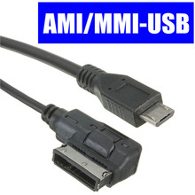 New MICRO USB MALE - AU AUDIO CABLE ADAPTER CAR MUSIC INTERFACE FOR AUDI AMI MMI