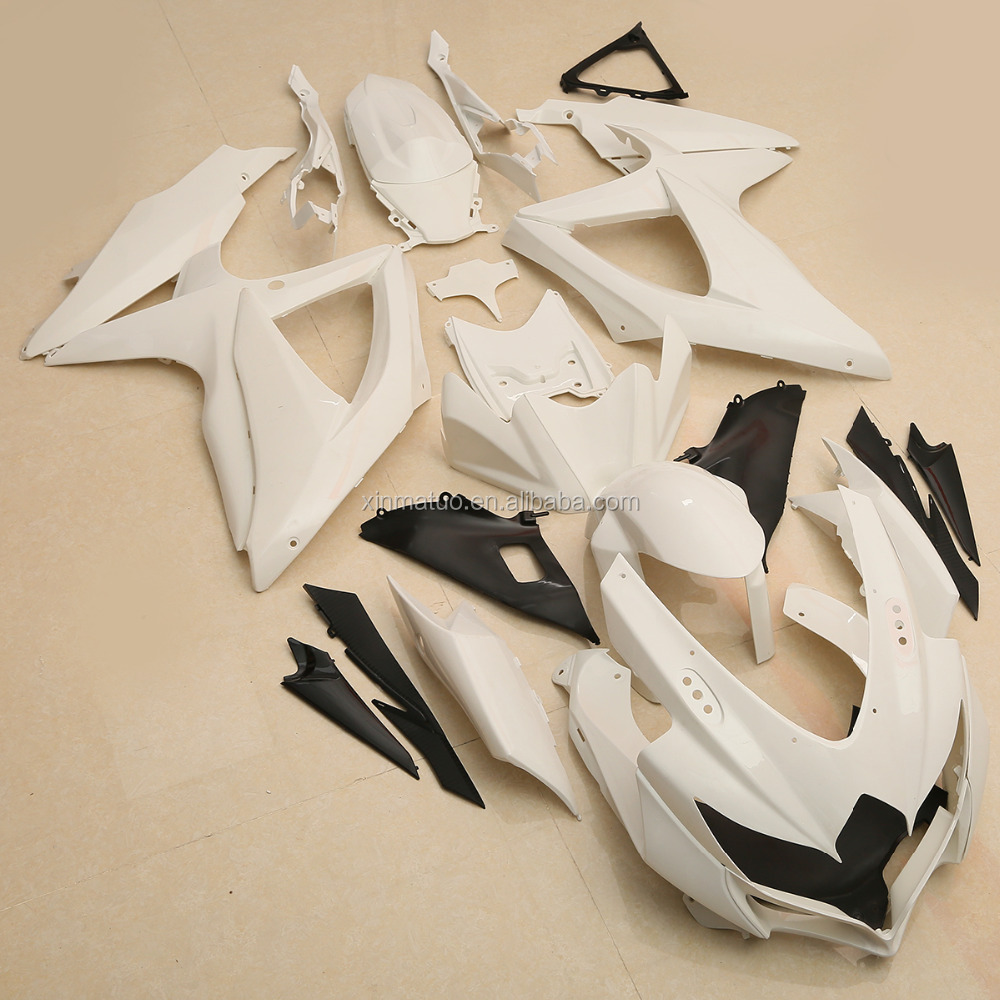 xinmatuo XF-4099-W Motorcycle Unpainted ABS Bodywork Fairing Kit For SUZUKI GSXR600 750 2008-2010 2009
