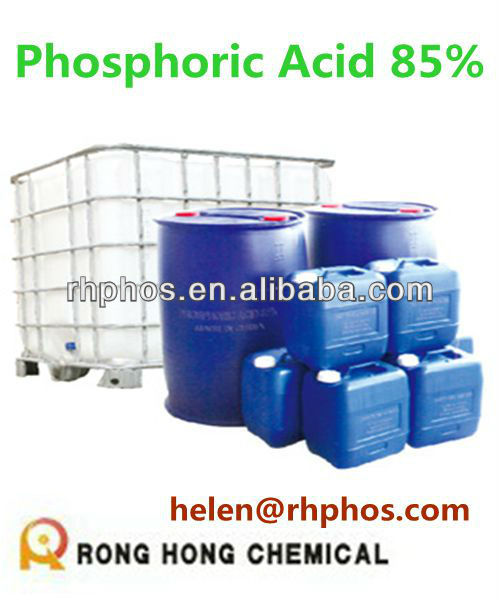 Phosphoric Acid industrial grade 85% with best price