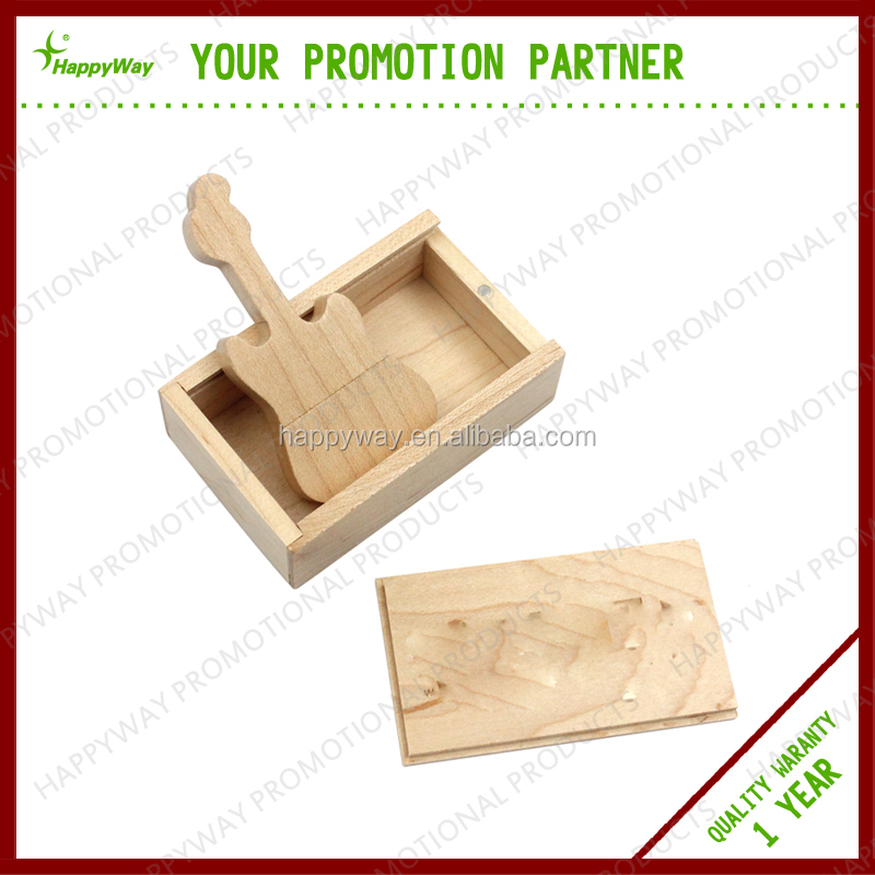 Wooden Made USB Flash Drive with Customized Logo MOQ100PCS 0504035 One Year Quality Warranty