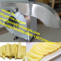 SUS potato crisp cutting machine/potato chip slicer