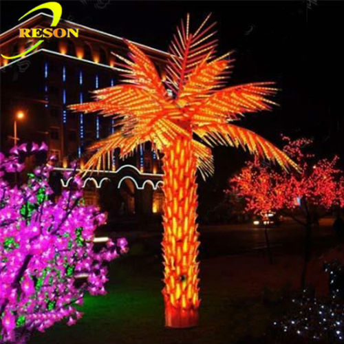 Garden lighting palm tree buyers